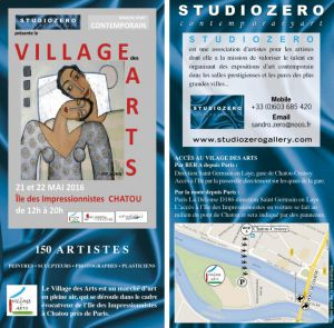 Village des arts de chatou 2016